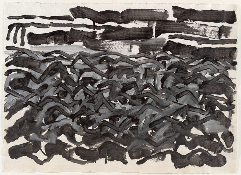 1990, Jan Goossen, No Title, ink on paper