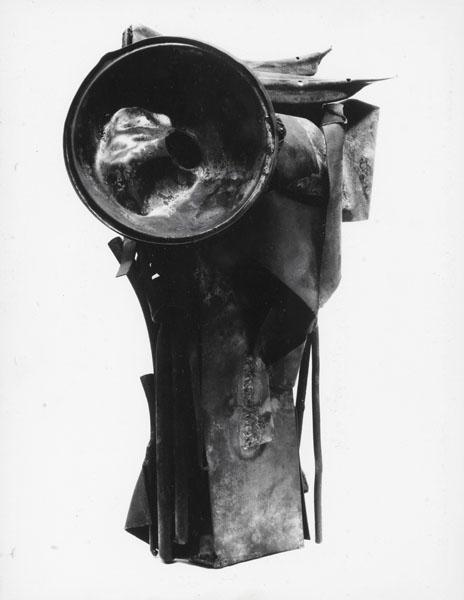 1960, Jan Goossen, No Title, metal, approx. 50 cm. photo Paul van den Bos
