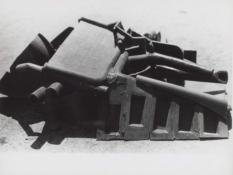 1967, Jan Goossen, 'Landschap (Portrero Hill)', wax, 60-70 cm