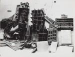 1967, Landscape, wax & carton, 100-150 cm