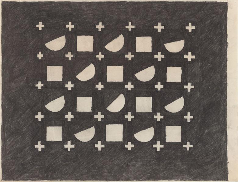1994, Jan Goossen, No Title, pensil on paper