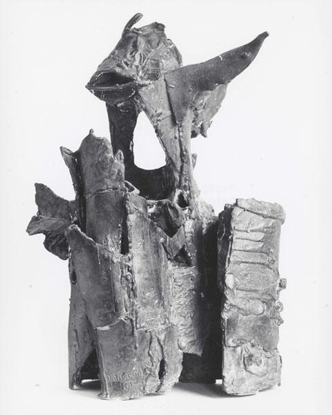 1961, Jan Goossen, bronze. photo Paul van den Bos