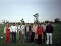 1978-toronto-new-york-city_van rechts naar links Arie Berkulin, Jan Goossen, Roelie Strijk, Lucien den Arend,Els ..., Bonies, Joop Beljon, Krij Giezen en partner Martina