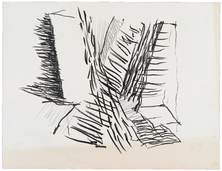 1977, Jan Goossen, 'Spui (3) Amsterdam'