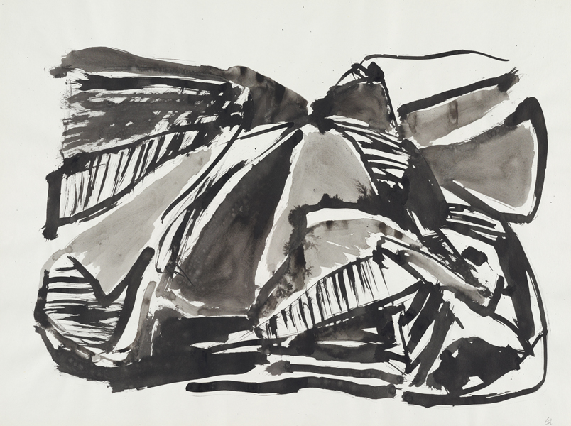 1962, Jan Goossen, 'Parijs', ink on paper