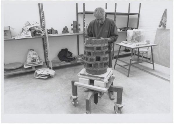 1995, Jan Goossen, Werkperiode EKWC, Den Bosch. Photo Els van den Boorn