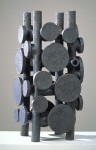 1995, Jan Goossen, ceramic, 24 x 25 cm x 52 cm h. Made in European Ceramics Workcentre (.ekwc) Photo Peer van der Kruis