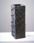 1995, Jan Goossen, ceramic, 27 x 28 cm x 64 cm h. Made in European Ceramics Workcentre (.ekwc) Photo Peer van der Kruis