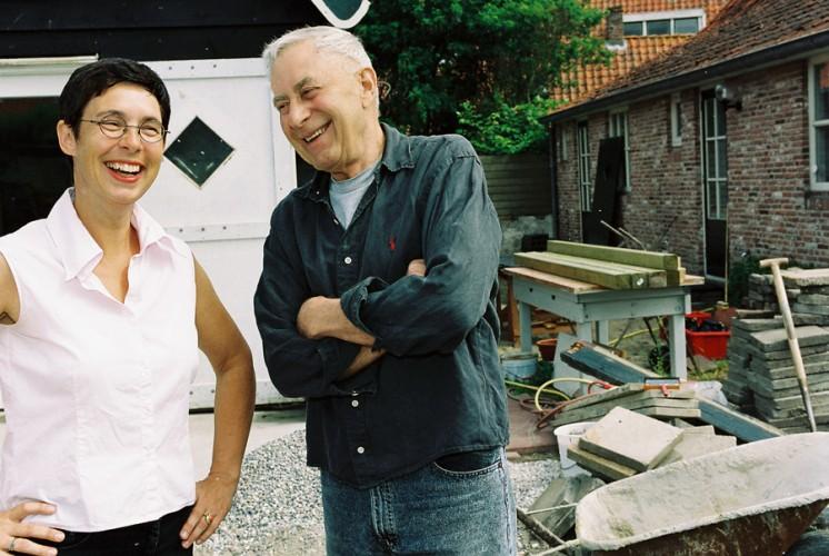 2003, Yvette Lardinois en Jan Goossen, Vrouwenpolder. Photo Anda van Riet