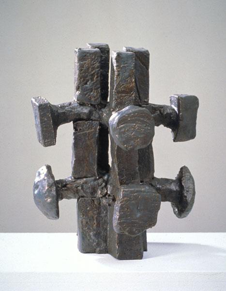 1995, Jan Goossen, ceramic, 30 x 32 cm x 37 cm h. Made in European Ceramics Workcentre (.ekwc) Photo Peer van der Kruis