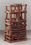 1995, Jan Goossen, ceramic, 44 x 75 cm x 128 cm h. Made in European Ceramics Workcentre (.ekwc) Photo Peer van der Kruis
