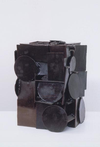1999, Jan Goossen, 30 cm x 30 cm x 47 cm h, wax, later bronze