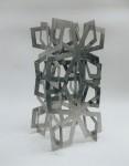 1999, Jan Goossen, 'Paso Doble', rvs, sketch, 66 cm h. Private collection