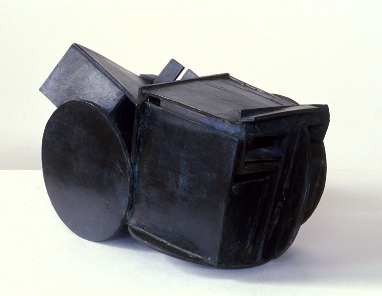 1999, Jan Goossen, Stapeling, bronze, 35 cm x 18 cm x 20 cm h