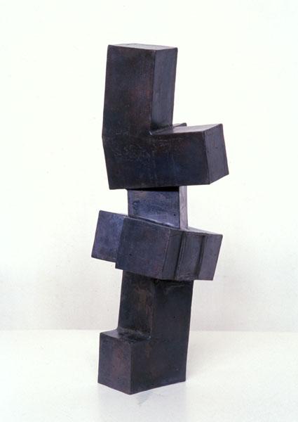 2000, Jan Goossen, 26 cm x 26 cm x 64 cm h, bronze