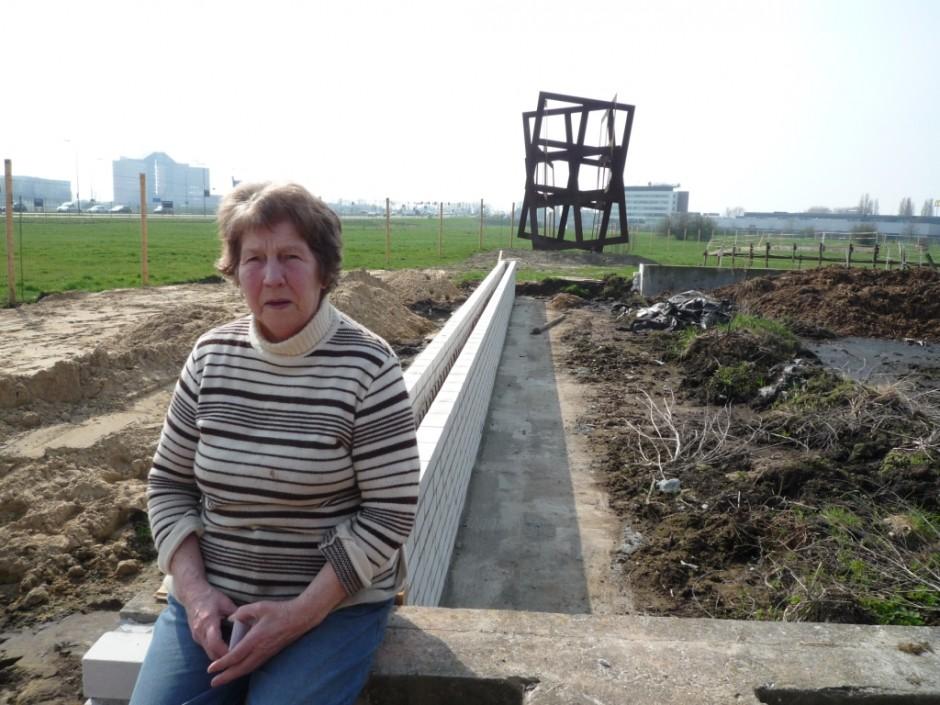 'Running Squares' (Jan Goossen) met mevrouw Boers