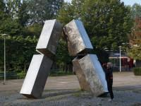 Jan Goossen, Piramide 71, RVS, Gaasperplas Amsterdam met Yvette Lardinois