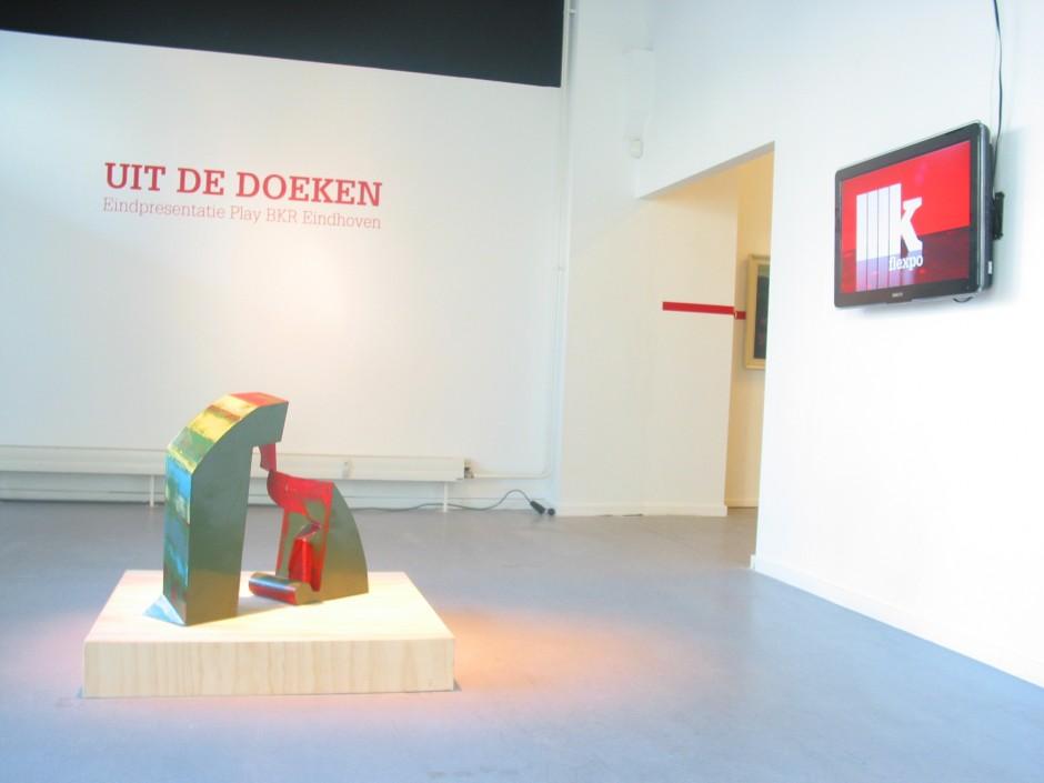 Jan Goossen, Krabbedans tentoonstelling Play BKR overzicht-BKR in 2011