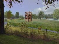 3D impressie Running Squares, Jan Goossen