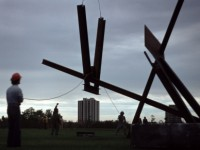 1978 Toronto New-York City, Mark di Suvero, work in progress
