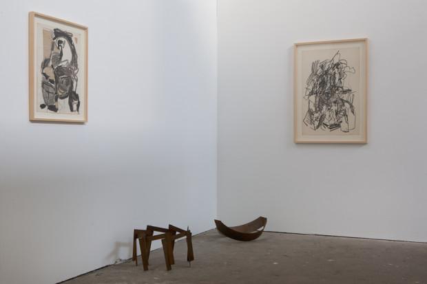 Jan Goossen. tekeningen jaren 60, Verbeke Foundation. Foto Tineke Schuurmans