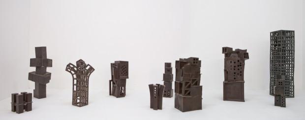 Jan Goossen, bronzen beelden. Verbeke Foundation. Foto Tineke Schuurmans