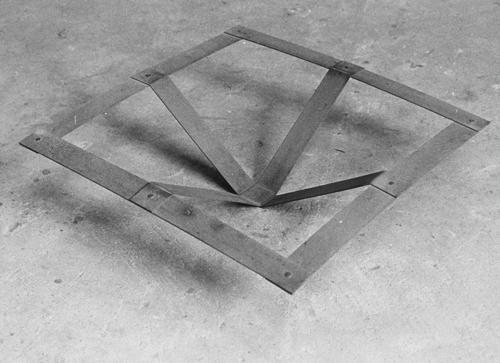Jan Goossen bewegend vierkant II