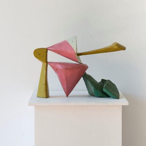 Jan Goossen gekleurd metaal